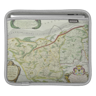 Route of Marco Polo iPad Sleeves
