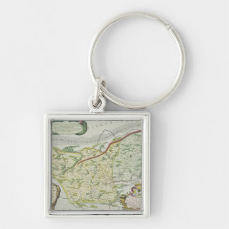 Route of Marco Polo Key Ring