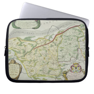 Route of Marco Polo Laptop Sleeve