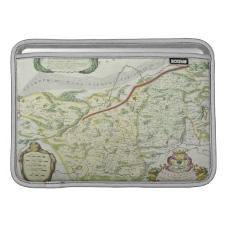 Route of Marco Polo MacBook Sleeve