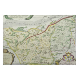 Route of Marco Polo Placemat