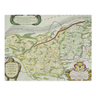 Route of Marco Polo Postcard
