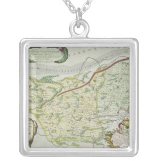 Route of Marco Polo Silver Plated Necklace