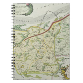 Route of Marco Polo Spiral Notebook
