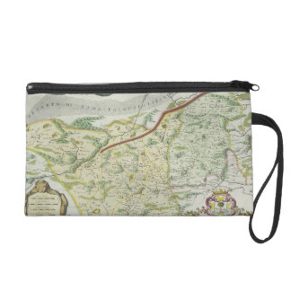 Route of Marco Polo Wristlet Purse