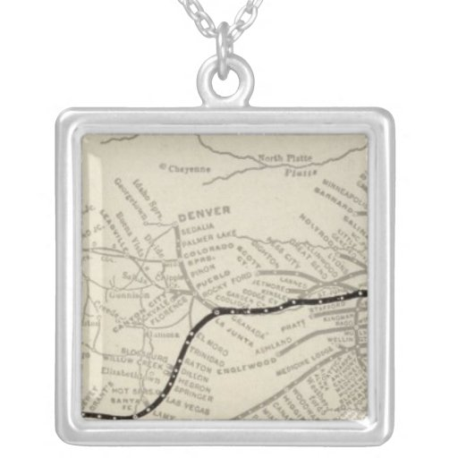 Route of the California Limited Necklace