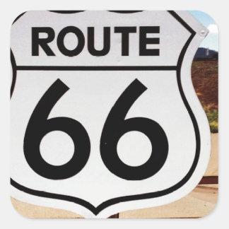 route sixty six usa americana hot rod rat rod sticker