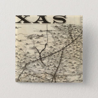 Route to Texas 15 Cm Square Badge