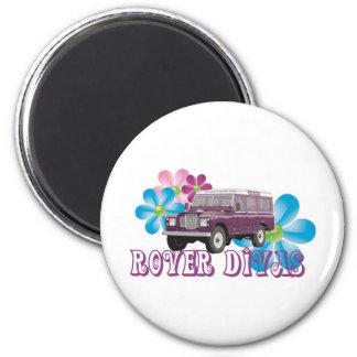 Rover Divas 6 Cm Round Magnet