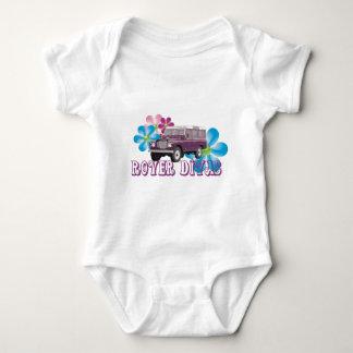 Rover Divas Baby Bodysuit