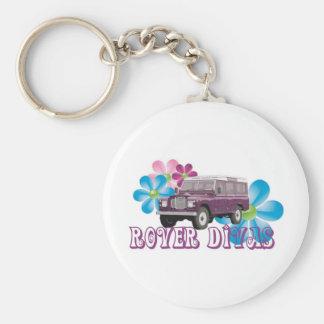 Rover Divas Key Ring