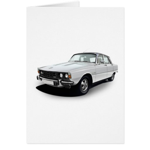 Rover P6 3500S Greeting Cards