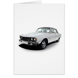 Rover P6 3500S Greeting Card