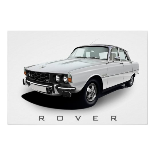 Rover P6 3500S Poster