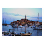 Rovinj Harbour, Croatia Post Card