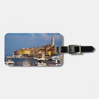 Rovinj Harbour Luggage Tag
