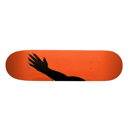 Row board skate board decks