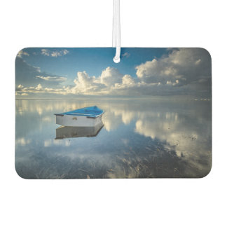 Row Boat On The Water Car Air Freshener