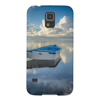 Row Boat On The Water Galaxy S5 Cases