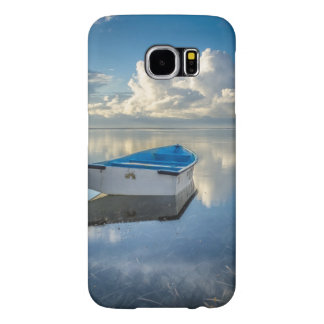 Row Boat On The Water Samsung Galaxy S6 Cases