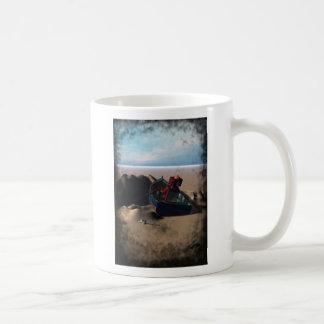 Row Boat Robot Mug
