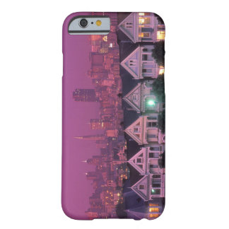 Row houses at sunset in San Francisco, Barely There iPhone 6 Case