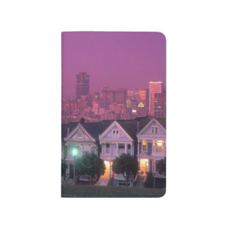 Row houses at sunset in San Francisco, Journal
