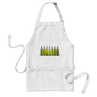 Row of bottles standard apron