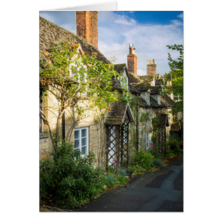 Row of cottages in Winchcombe, Gloucestershire 2 Greeting Card