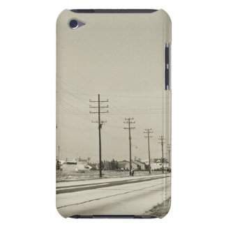 Row of Electricity Poles Barely There iPod Case