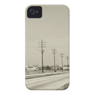 Row of Electricity Poles Case-Mate iPhone 4 Cases