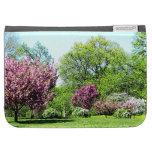 Row of Flowering Trees Kindle Keyboard Covers