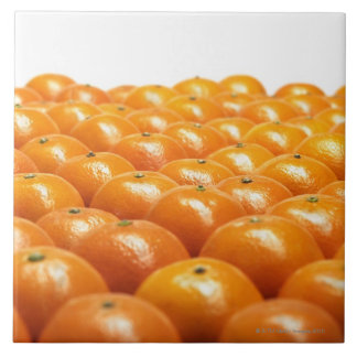 Row of oranges tile