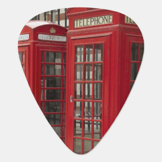 Row of phone boxes at the back of the Royal Plectrum