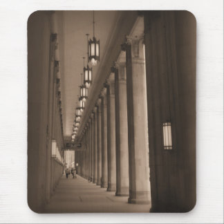 Row of Pillars - Civic Opera House - Chicago Mouse Pad