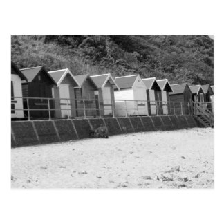 """Row of Seaside Beach Huts"" Postcard"