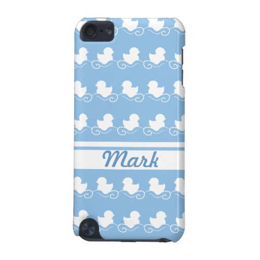 row of white ducks in blue  iPod Touch Speck iPod Touch 5G Covers