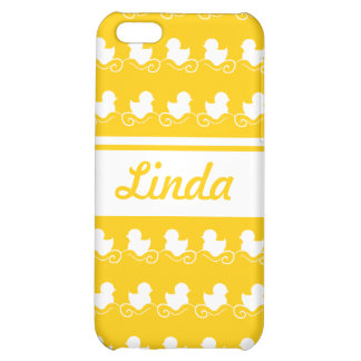 row of white ducks yellow iPhone 4 Speck iPhone 5C Cases