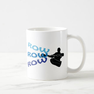 Row Row Row Coffee Mugs
