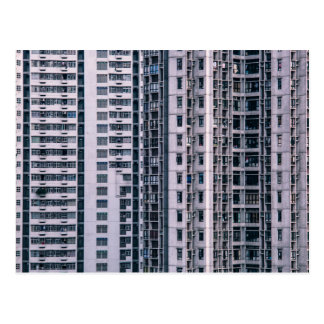 Row Themed, Hundreds Of Apartments In A Skyscraper Postcard