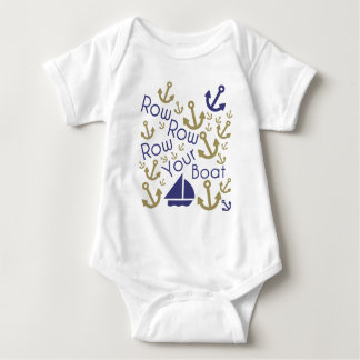 Row Your Boat Baby Bodysuit