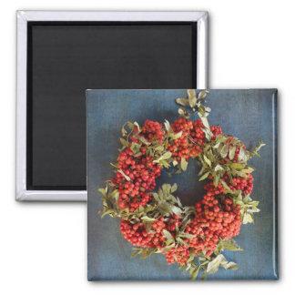 Rowan berries magnet