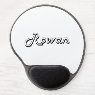 Rowan Classic Retro Name Design Gel Mouse Pad