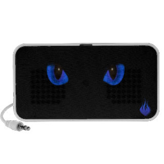Rowan's Cat's Eyes Doodle Case Portable Speaker