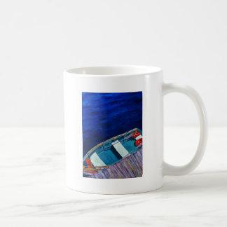 Rowboat at The Dock Mugs