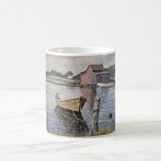 Rowboat on the Lake- mug