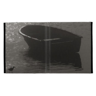 Rowboat Under Cloud iPad Folio Cover