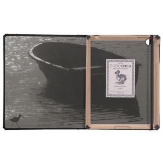 Rowboat Under Cloud iPad Folio Case