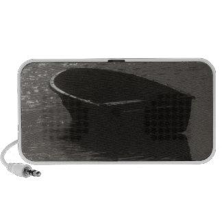 Rowboat Under Cloud iPhone Speaker