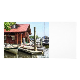 Rowboats by Founders Park Alexandria VA Picture Card